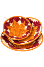 Load image into Gallery viewer, Raffia Coil Decor Baskets