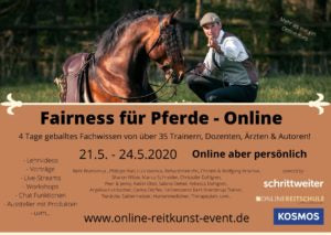 Fairness for horses - the online equestrian art event from May 21, 2020 to May 24, 2020