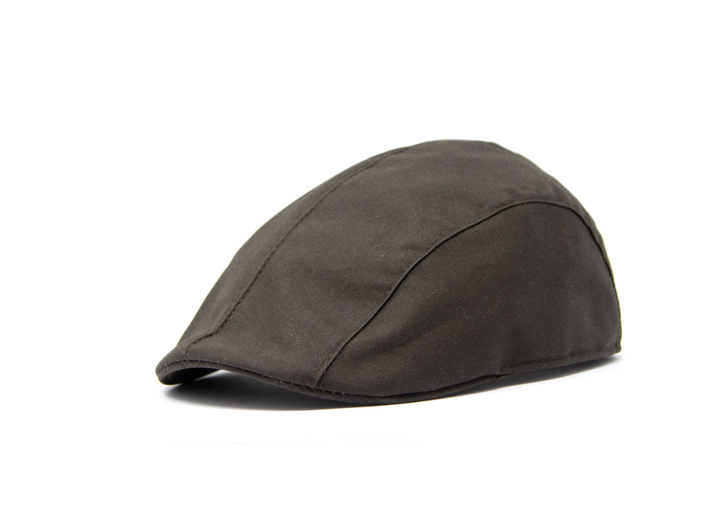 VAQUERA CAP - cotton - rain repellent - brown