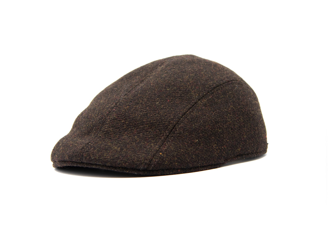 VAQUERA  CAP - wool - brown