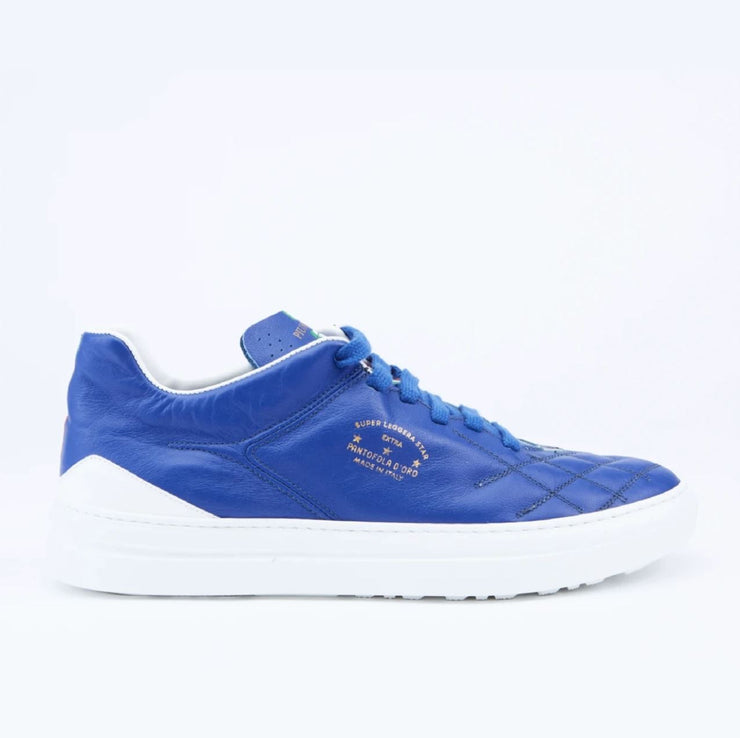 PIUMA LEATHER SNEAKERS -ROYAL BLUE/WHITE
