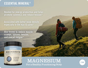 Magnesium Powder - 325mg, 69 Servings
