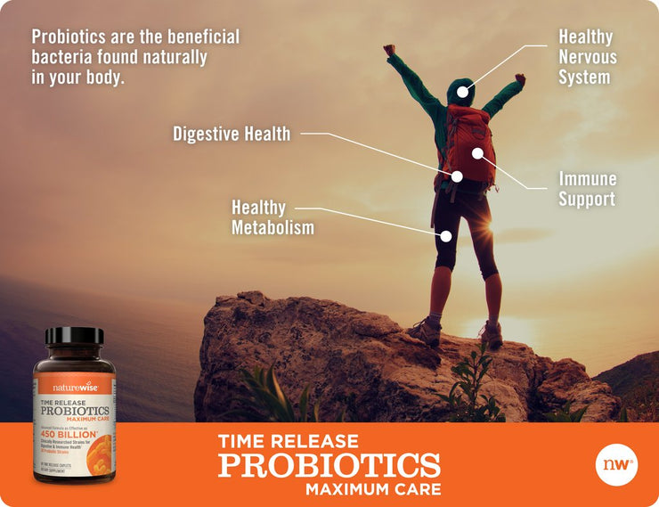 Max Care Probiotics With WiseBiotics®