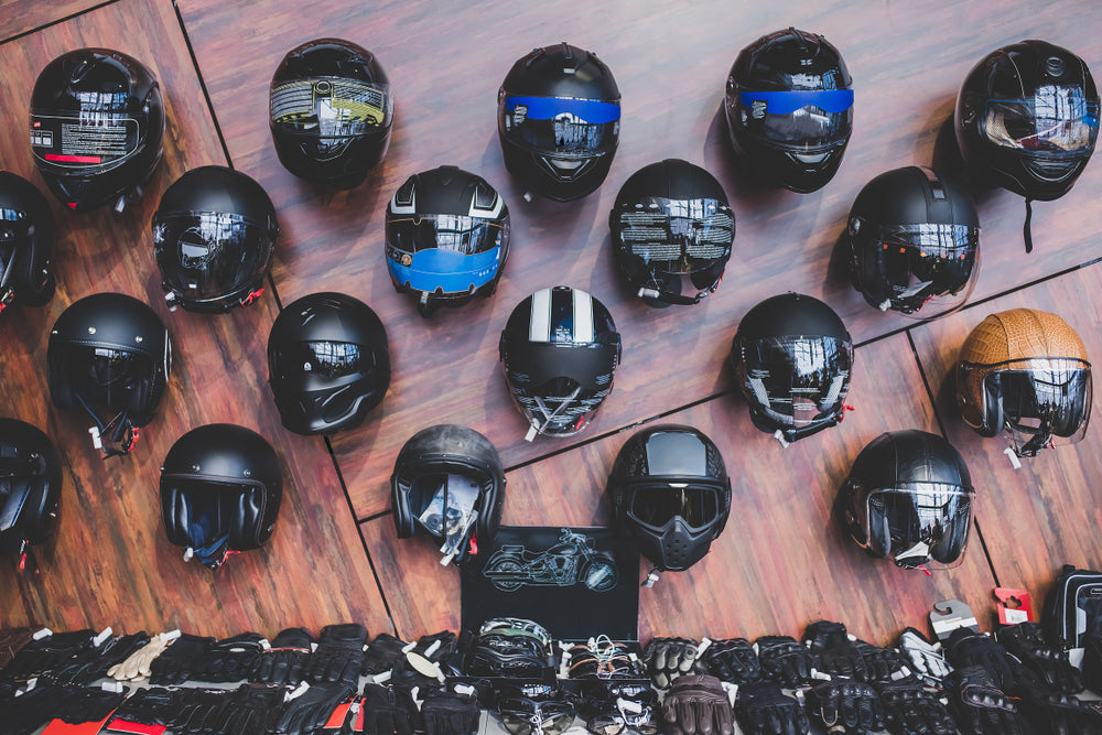 How safe are open face Motorcycle Helmets?