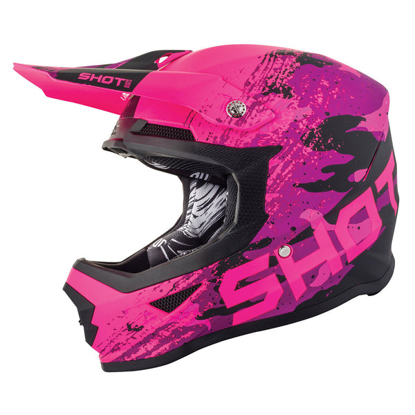 Shot Furious Counter Kids MX Helmet