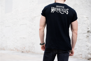 Blackout Chopper Heavy Cotton T-Shirt