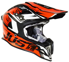 Load image into Gallery viewer, Just1 J12 Carbon Dominator Adult ACU Gold MX Helmet