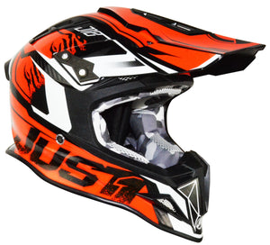 Just1 J12 Carbon Dominator Adult ACU Gold MX Helmet