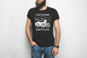 Live to Ride Heavy Cotton T-Shirt