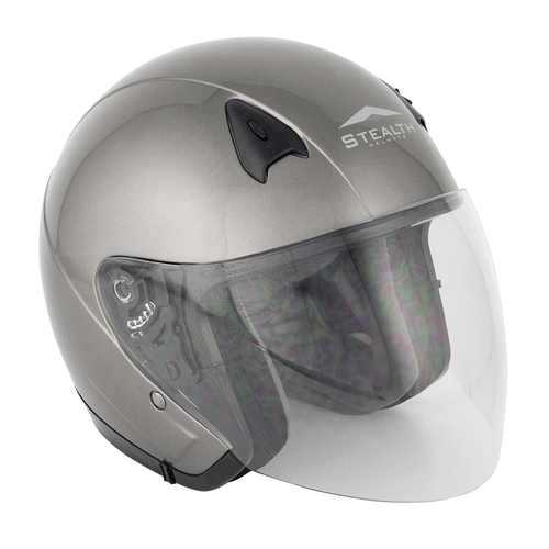 Stealth NT200 Adult Open Face Helmet