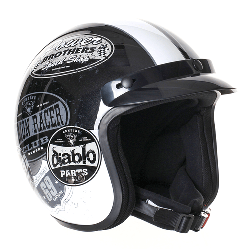 Stealth HD320 Colour Adult Open Face Helmet