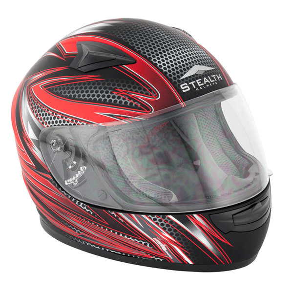 Stealth HD127 Razor Kids Full Face Helmet