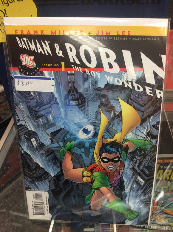 All Star Batman and Robin, The Boy Wonder #1