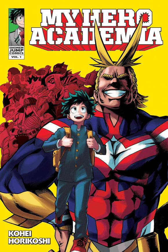 My Hero Academia Gn Vol 01