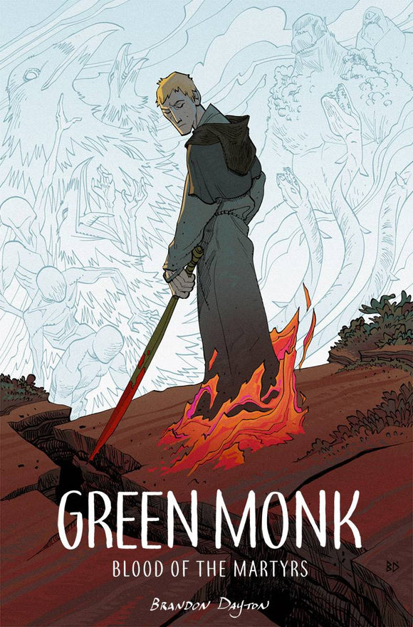 Green Monk Blood Of Martyrs Tp