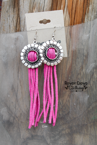 Pink Frost Earrings