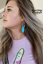 Load image into Gallery viewer, Peace & Love Earrings