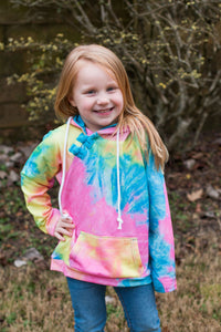 Brighter Days Tie Dye Hoodie Now Available in Kids!