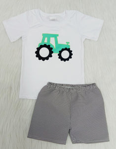 Back to Basics Tractor Boys Outfit