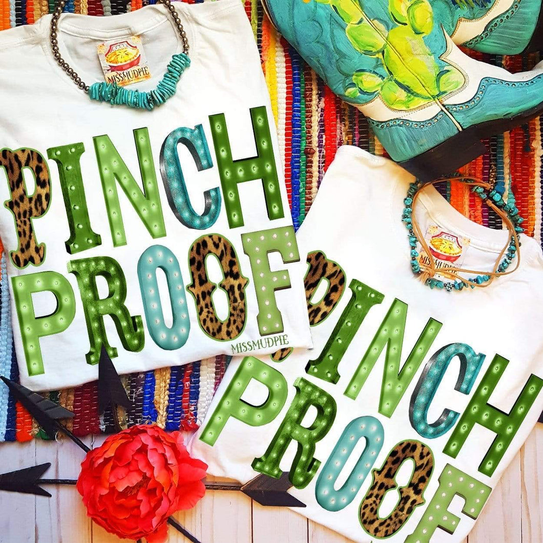Pinch proof tee