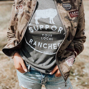 SUPPORT YOUR LOCAL RANCHERS Graphic Tees