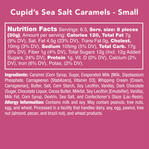 Cupid's Sea Salt Caramels