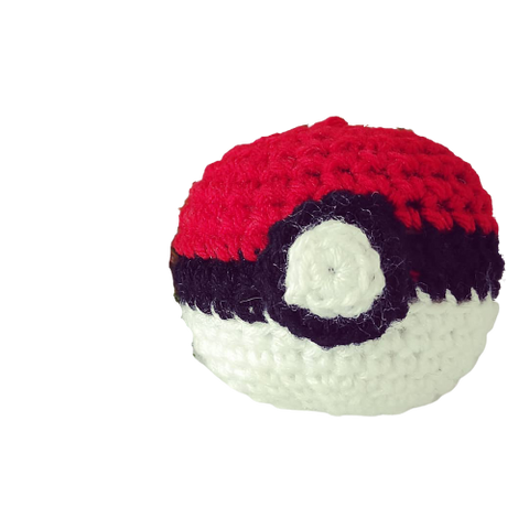 Pokeball Amigurumi Keychain Bag Charm