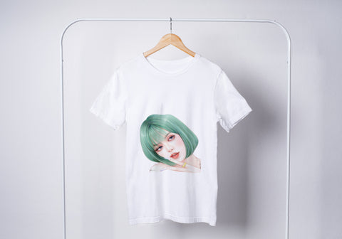 Lisa Green Hair Blackpink Unisex T-Shirt