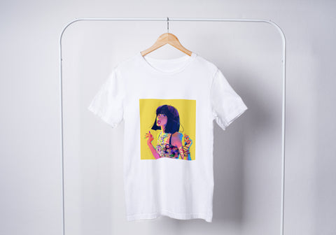 Lisa Yellow Poster Unisex T-Shirt
