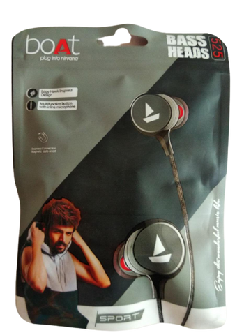 Boat Bass Heads 525 Earphones