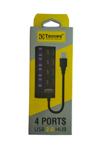 TROOPS 4 Ports USB 2.0 HUB