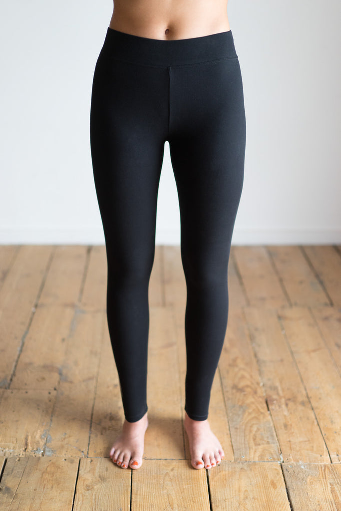 Side Seamless Extra Long Yoga Leggings Front