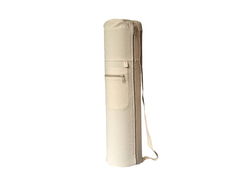 Organic Cotton Canvas Yoga Mat Bag