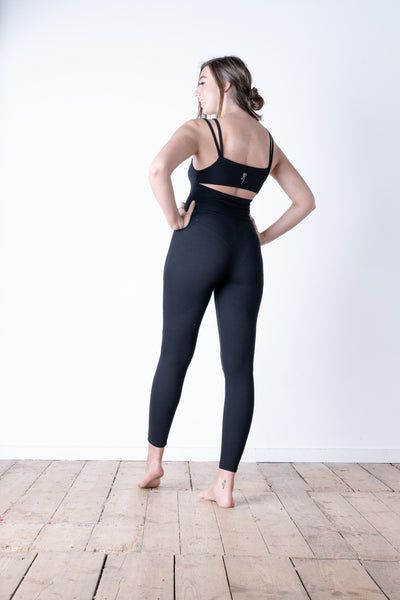 Split Knee Jumpsuit Rear