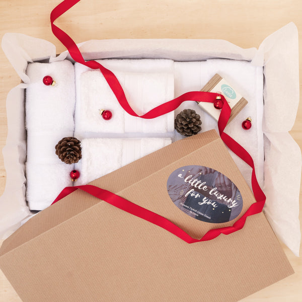 Luzia Gift Set Towels and Handmade Soaps