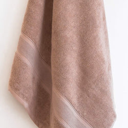 Latte Brown Bath Towel