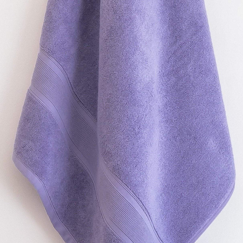 Lavender Bath Towel Turkish Cotton