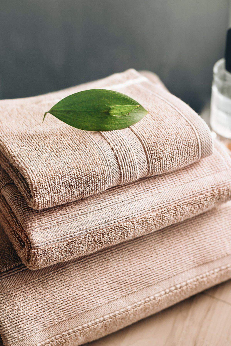 Luzia-Premium Turkish Cotton Latte Brown Towels