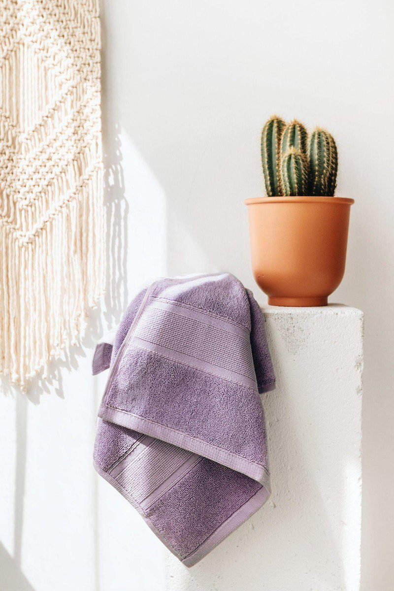 Luzia-Premium Turkish Cotton Lavender Towels