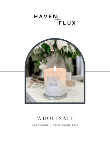 wholesale hand poured non toxic coconut soy intention and coordinate candles