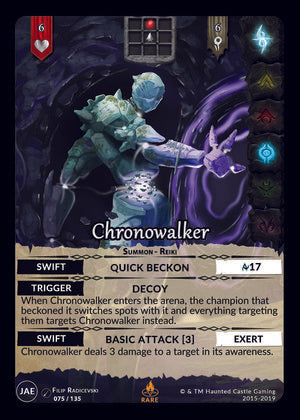 Chronowalker (JAE, 75/135) | North of Exile Games