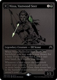 Nissa, Vastwood Seer SDCC 2015 EXCLUSIVE [San Diego Comic-Con 2015] | North of Exile Games