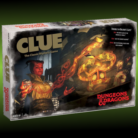 Clue: Dungeons & Dragons -2019- | North of Exile Games