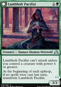 Lambholt Pacifist [Shadows over Innistrad] | North of Exile Games