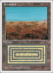 Scrubland [Summer Magic / Edgar] | North of Exile Games