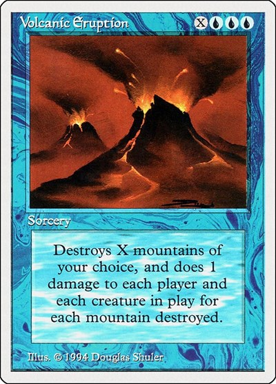 Volcanic Eruption [Summer Magic / Edgar] | North of Exile Games