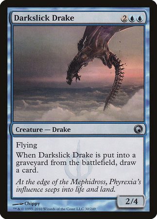 Darkslick Drake [Scars of Mirrodin] | North of Exile Games