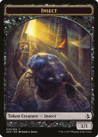 Insect Token [Amonkhet Tokens] | North of Exile Games