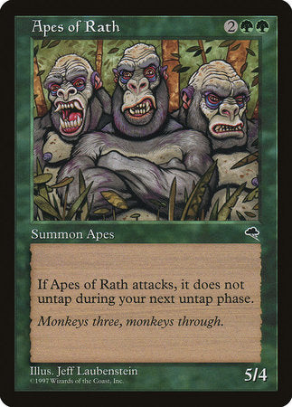 Apes of Rath [Tempest] | North of Exile Games