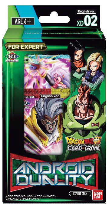 Dragon Ball Super TCG Expert Deck: XD02 - Android Duality | North of Exile Games